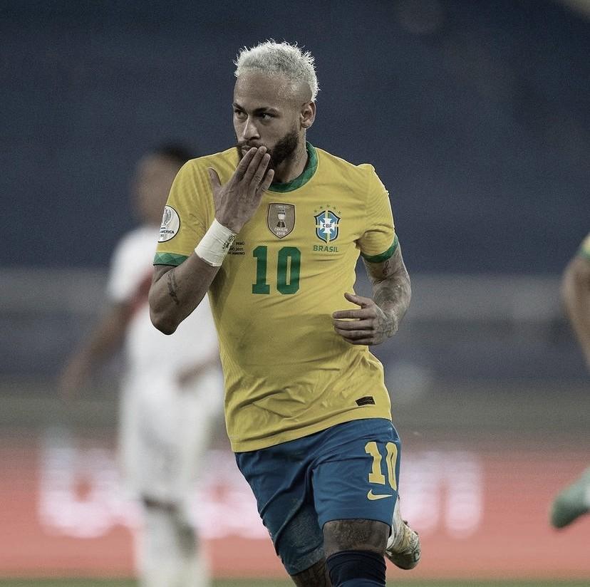 Com direito a show de Neymar e companhia, Brasil goleia o Peru pela Copa América