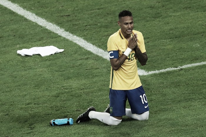 Após conquista olímpica, Neymar afirma que não será mais capitão da seleção principal