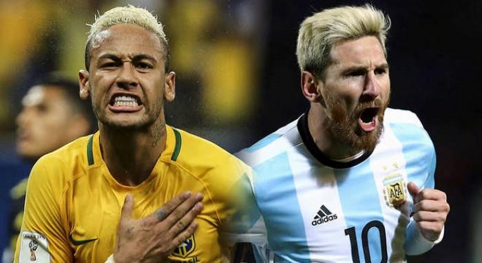 Mondiali 2018, qualificazioni: Brasile-Argentina in diretta esclusiva su Sky