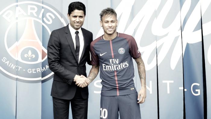 Em 2017, Neymar e Paris Saint-Germain modificaram transferências no futebol
