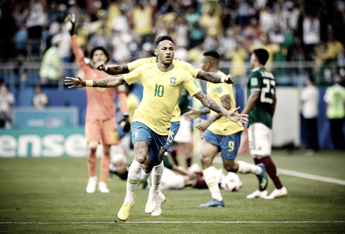 """Eleito o homem do jogo, Neymar destaca o coletivo: """"Feliz por fazer parte desse grupo"""""""