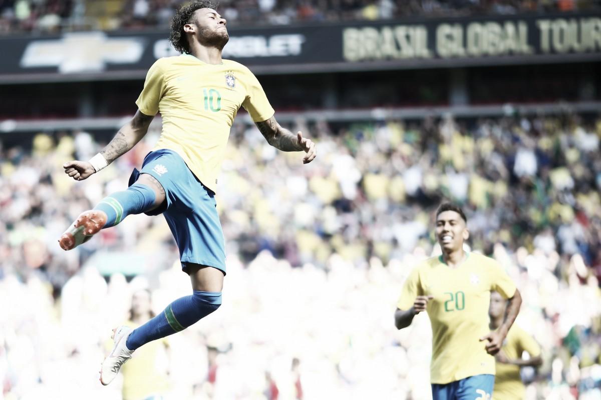 Neymar volta em grande estilo, Firmino faz golaço no fim e Brasil vence Croácia