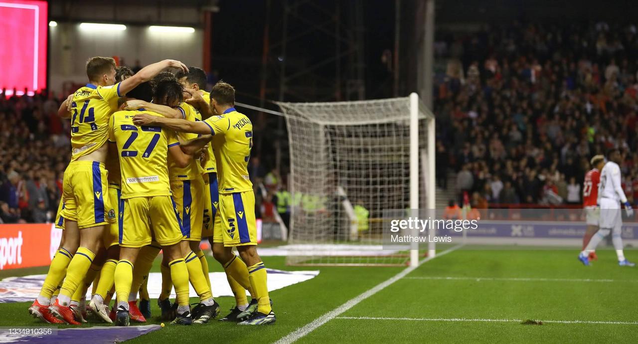 Nottingham Forest 1-2 Blackburn Rovers: Late Lenihan header extends Nottingham Forest's early season woes