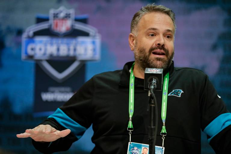 """Panthers head coach Matt Rhule claims they need guys to be """"dedicated"""""""