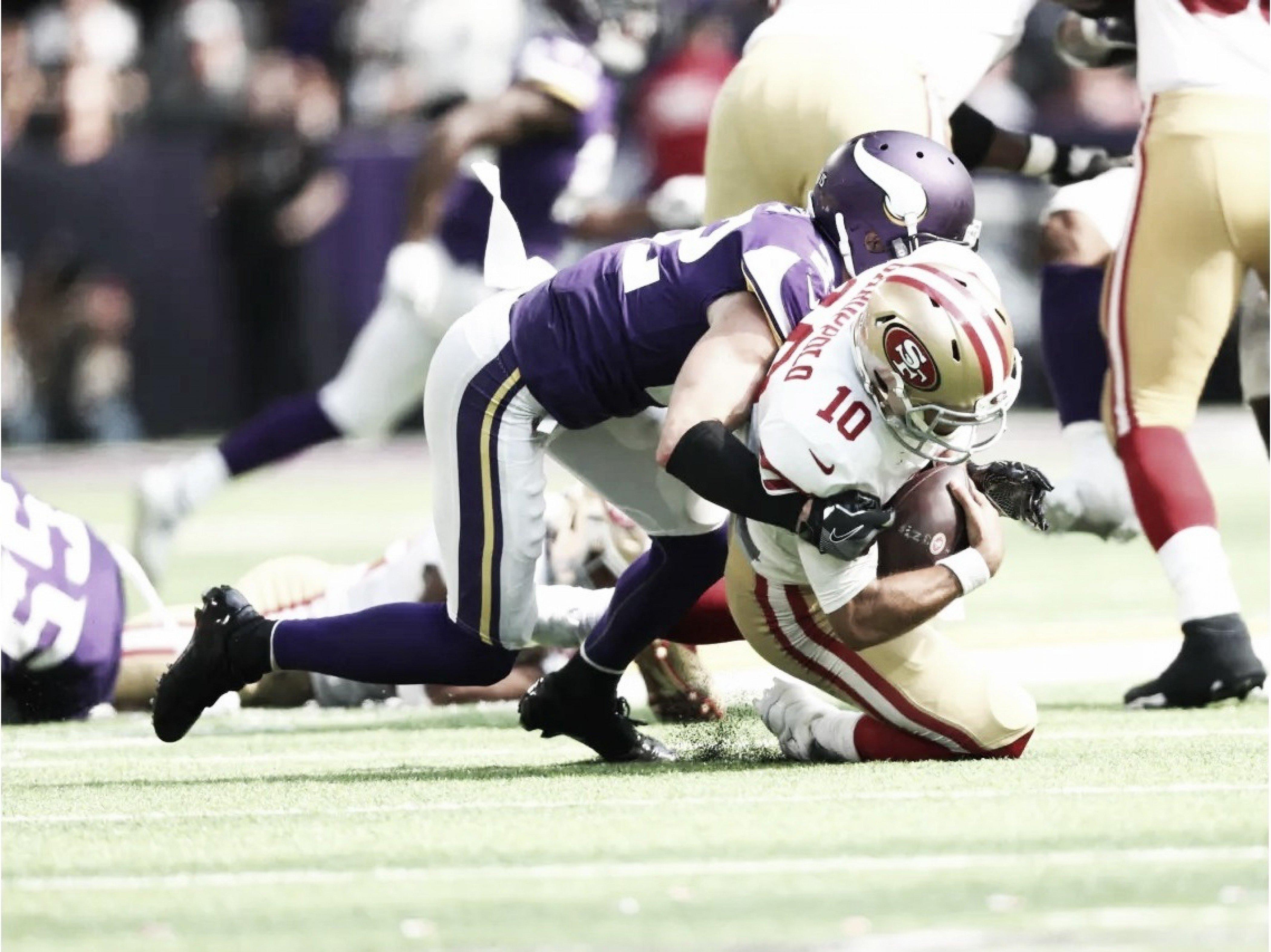 Em estreia tímida de Cousins, defesa comanda a vitória dos Vikings contra 49ers