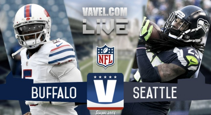 Score Buffalo Bills 25-31 Seattle Seahawks in 2016 NFL