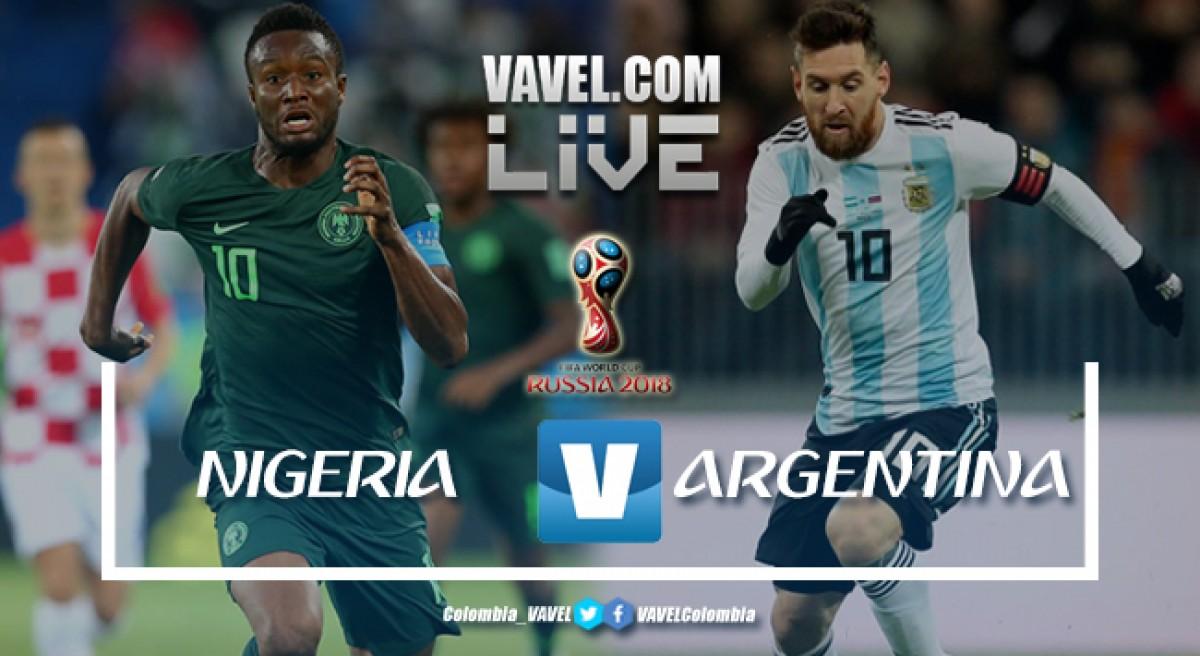 Resumen Nigeria vs Argentina: la banda de Messi y una clasificación agónica