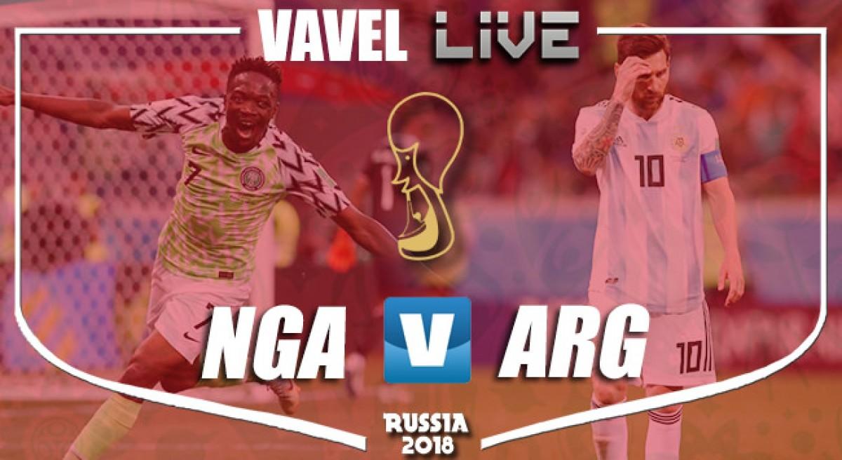 Resultado Nigéria x Argentina na Copa do Mundo (1-2)
