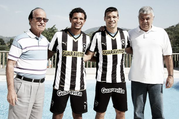 Ex Atlético-GO, Willian Arão e Diego Giaretta esperam oportunidade no Botafogo