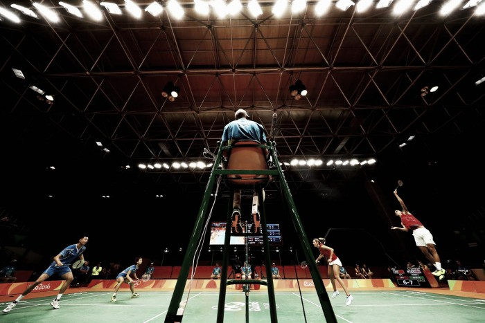 Dez dias após o início da Olimpíada, começam fases decisivas do Badminton