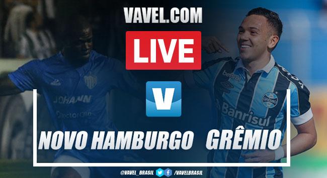 Melhores momentos de Novo Hamburgo e Grêmio pelo Campeonato Gaúcho (0-0)