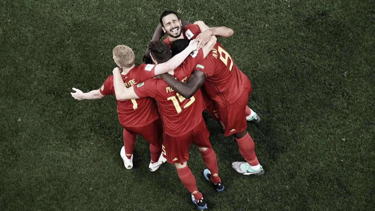 En un vibrante encuentro frente a Japón, Bélgica avanzó a cuartos de final