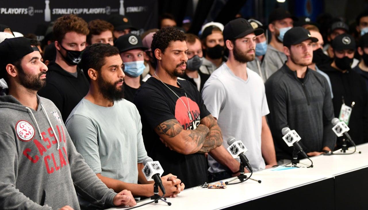 La NHL también se se solidariza con el caso de Jacob Blake