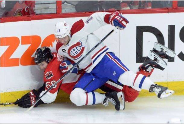 Montreal Steals Game 3 From Senators Behind Two Goals From Weise