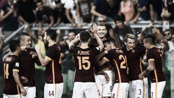 La Roma vince e covince. Pjanic e Dzeko stendono la Juve