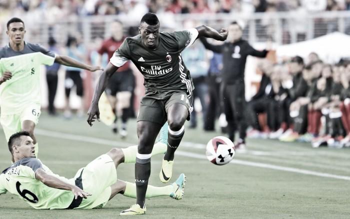 Destaque na derrota para Liverpool, Niang crê em volta por cima no Milan nesta temporada