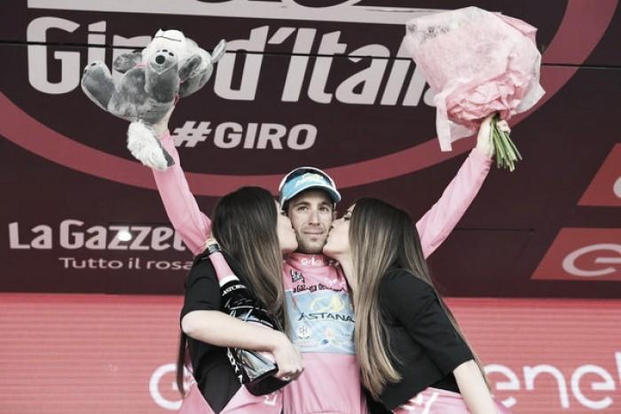 Giro d'Italia, Nibali vola in salita e si veste di rosa. Podio con Chaves e Valverde, tappa a Taaramae