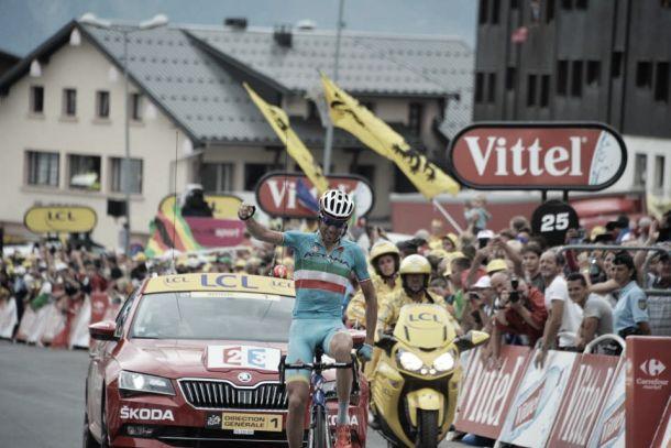 Tour de France, Nibali trionfa a La Toussuire, Quintana stacca Froome