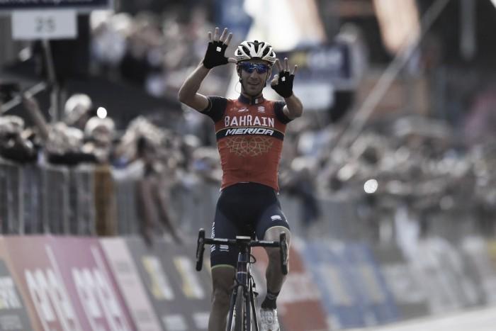 Fántastica exhibición de Nibali para ganar el Giro de Lombardia