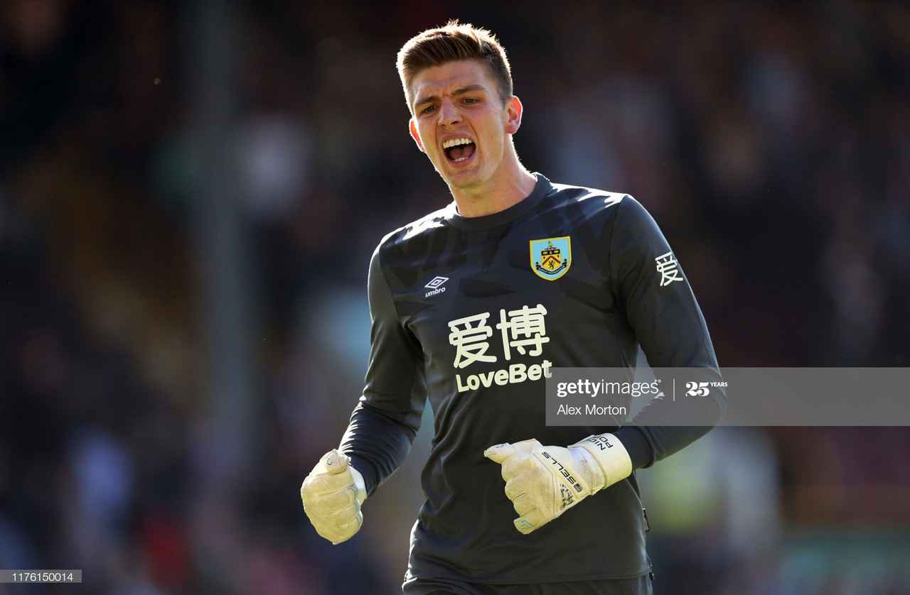 Nick Pope could be answer for London club
