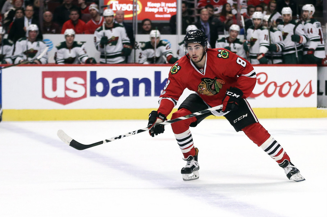 Arizona Coyotes trade Strome, Perlini to Chicago Blackhawks for Nick Schmaltz