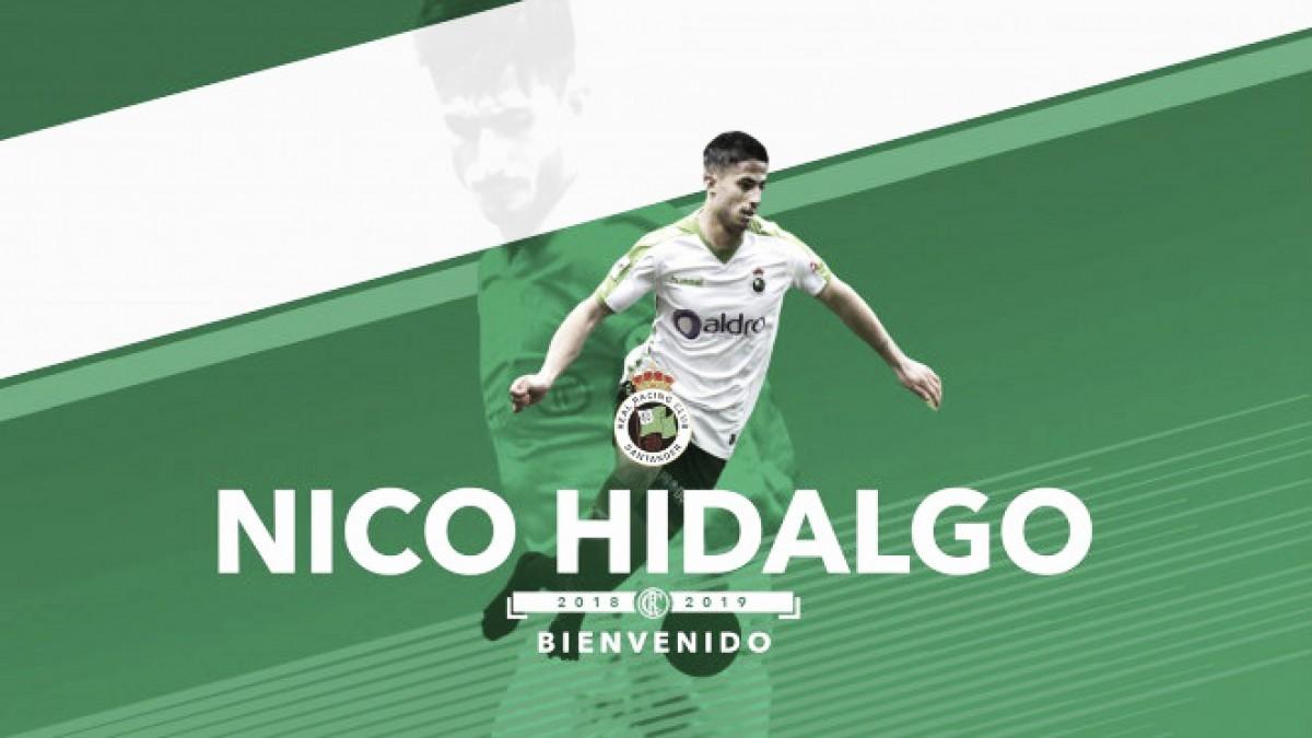 Nico Hidalgo es el decimocuarto fichaje del Racing (Foto: www.realracingclub.es)