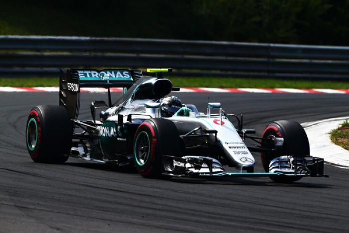 Hockenheim, Rosberg al comando delle FP1