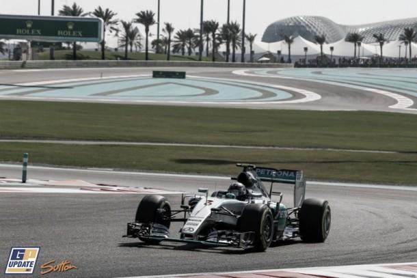 Mercedes repite la historia en los Libres 3 de Abu Dhabi