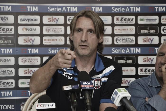 """Crotone, Nicola senza paura: """"Fare punti contro l'Inter? Ci proveremo senza timore"""""""