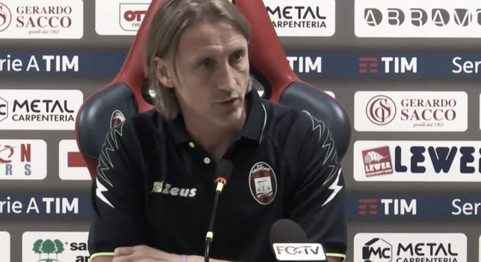 """Crotone, Nicola svela la sua ricetta anti-Inter: """"Dovremo essere pratici, coraggiosi e umili"""""""