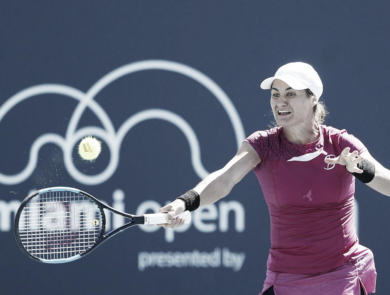 Niculescu surpreende Muguruza no WTA de Miami e avança para enfrentar Wozniacki