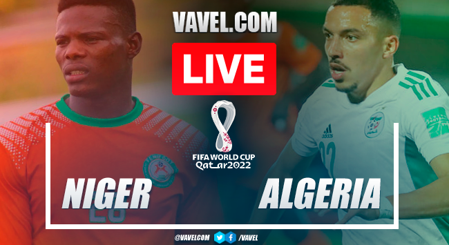 Goals and highlights: Niger 0-4 Algeria in CAF qualifiers for Qatar 2022