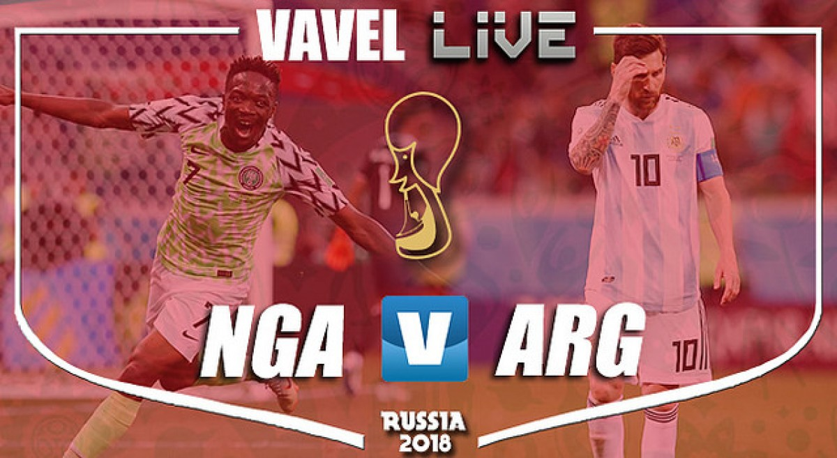 As it happened: Argentina progress into the knockout stages ahead of Nigerian counterparts