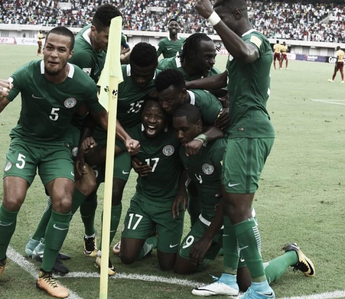 Iwobi entra, decide contra Zâmbia e garante Nigéria na Copa do Mundo 2018