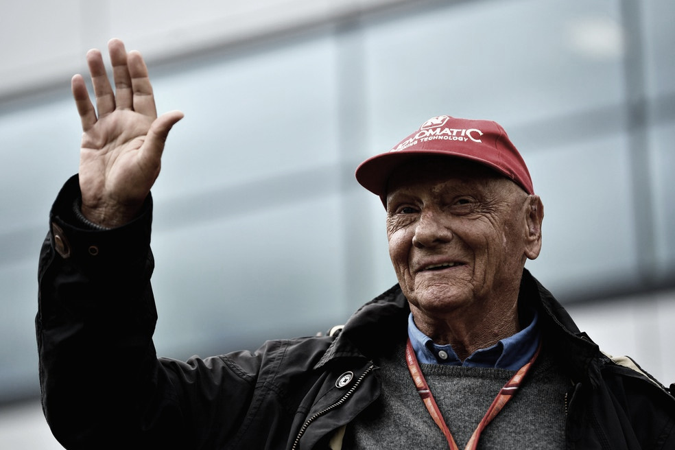 Luto no automobilismo! Tricampeão da Formula 1, austríaco Niki Lauda morre aos 70 anos