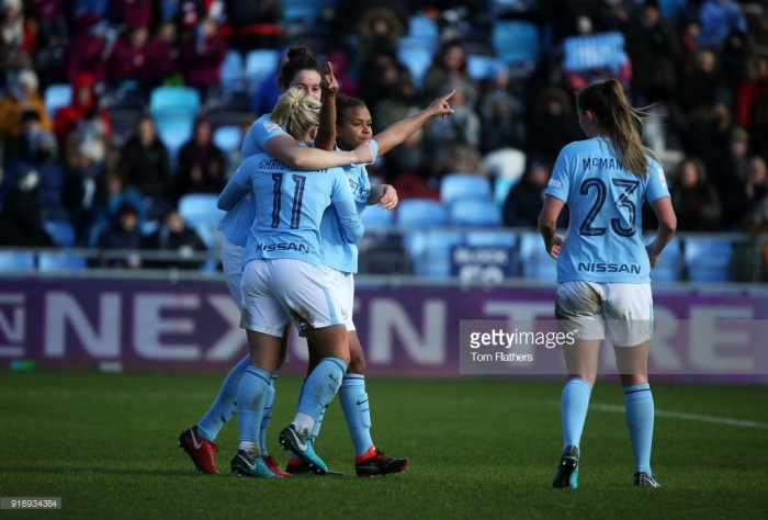 Nikita Parris not feeling the pressure following brace against Liverpool