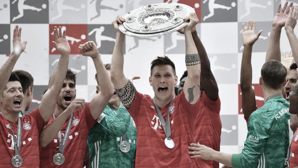 Aos 24 anos, Niklas Süle acredita chegar ao topo da posição mais cedo que Van Dijk
