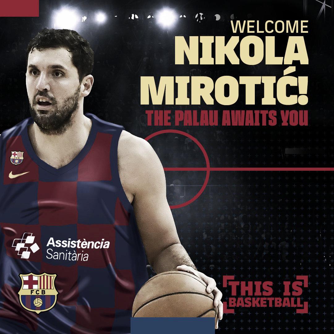 Nikola Mirotic, el bombazo aterriza en el Palau