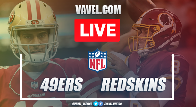 San Francisco 49ers vs Washington Redskins: Live Stream Online TV Updates and How to Watch NFL 2019 (0-0)