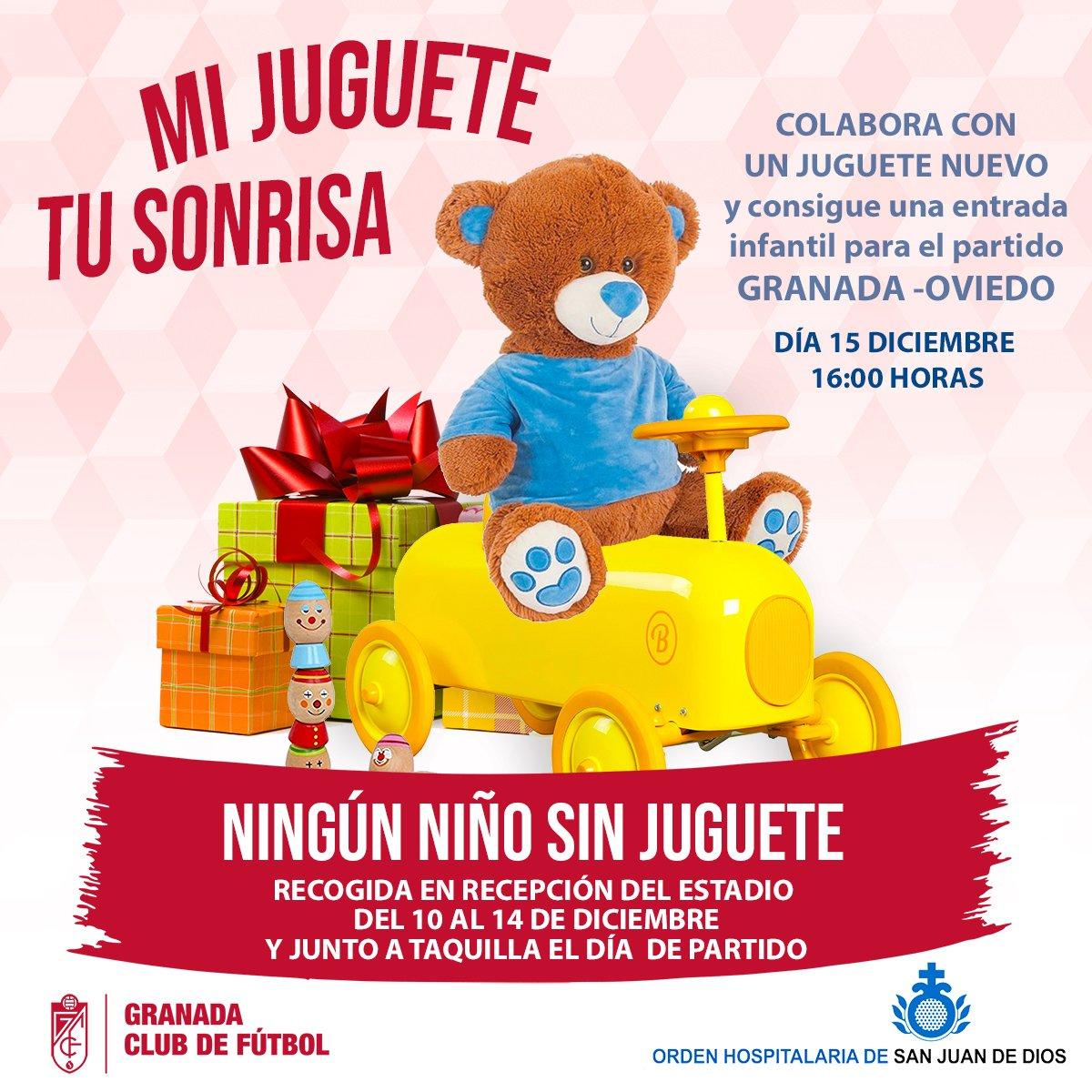 El Granada CF lanza una campaña solidaria de recogida de juguetes