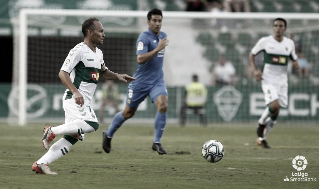Nino ante el Fuenlabrada | Fuente: La Liga
