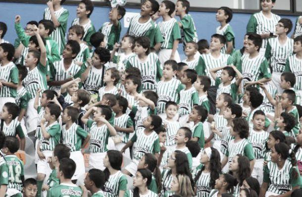 Atlético Nacional con los niños y el fútbol femenino