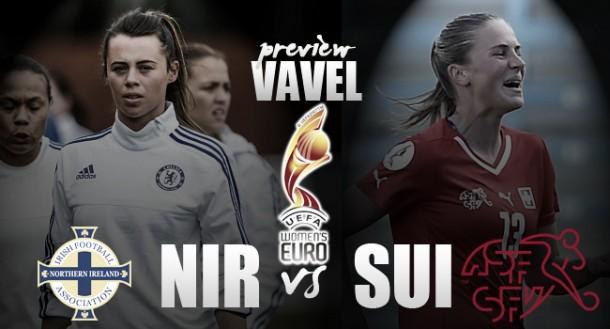 UEFA Women's EURO 2017 Qualifier - Northern Ireland - Switzerland: Hosts hope to upset strong Swiss side