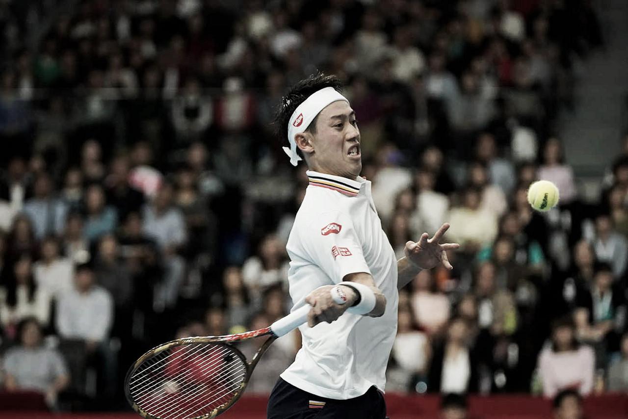 Em partida tranquila, Nishikori elimina Tsitsipas no ATP 500de Tóquio