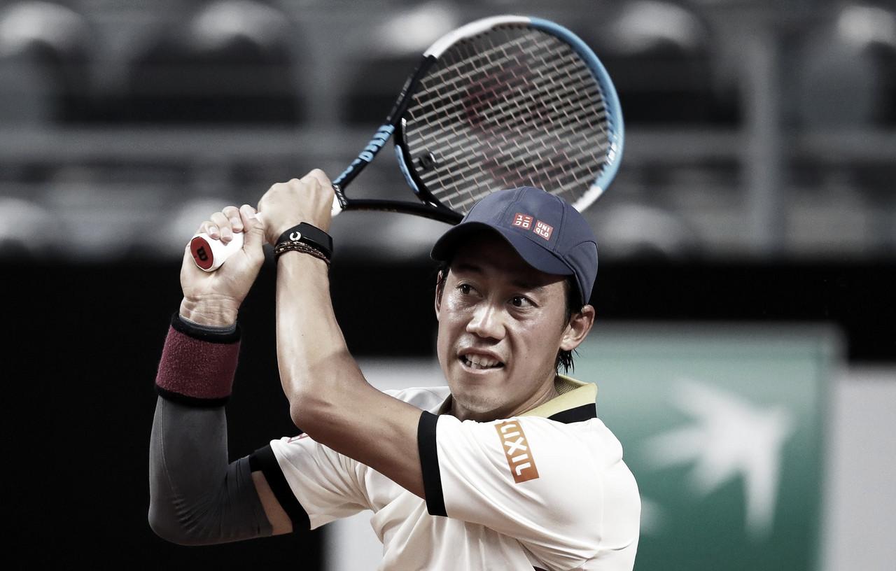 Nishikori supera Ramos-Viñolas no Masters 1000 de Roma e vence primeira em mais de um ano