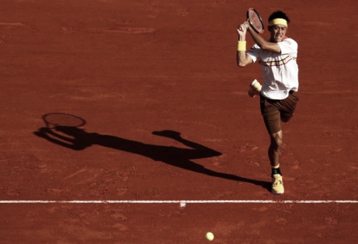 Nishikori vence Zverev de virada e decide título do Masters 1000 contra Nadal