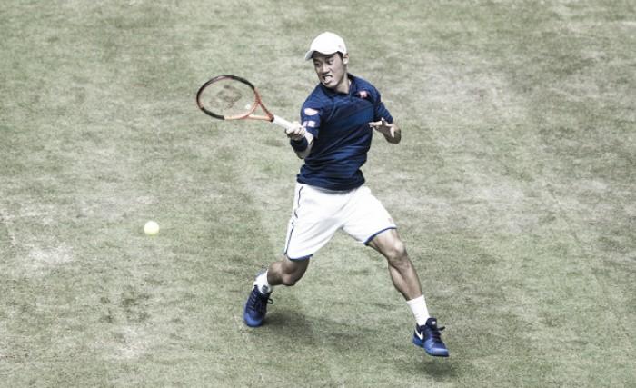 Nishikori remonta para eliminar a Verdasco