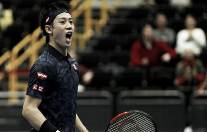 IPTL: Kei Nishikori highlights day of nail-biters