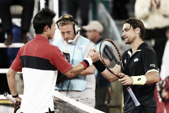ATP Rome second round preview: Kei Nishikori vs David Ferrer