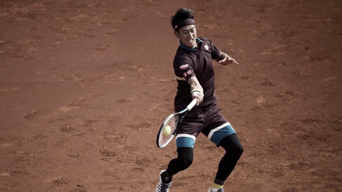 Fognini cai para Nishikori na estreia em Roma; Sinner segue para enfrentar Nadal